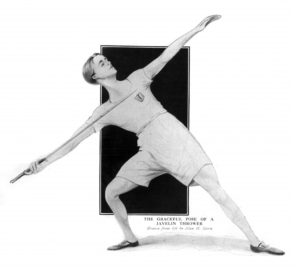 Javelin thrower, 1913