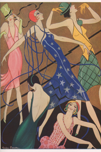 Designing the Jazz Age – Gordon Conway & Mary Evans at the Fashion & Textile Museum