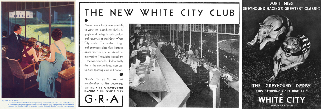 Greyhound racing and dinner at White City