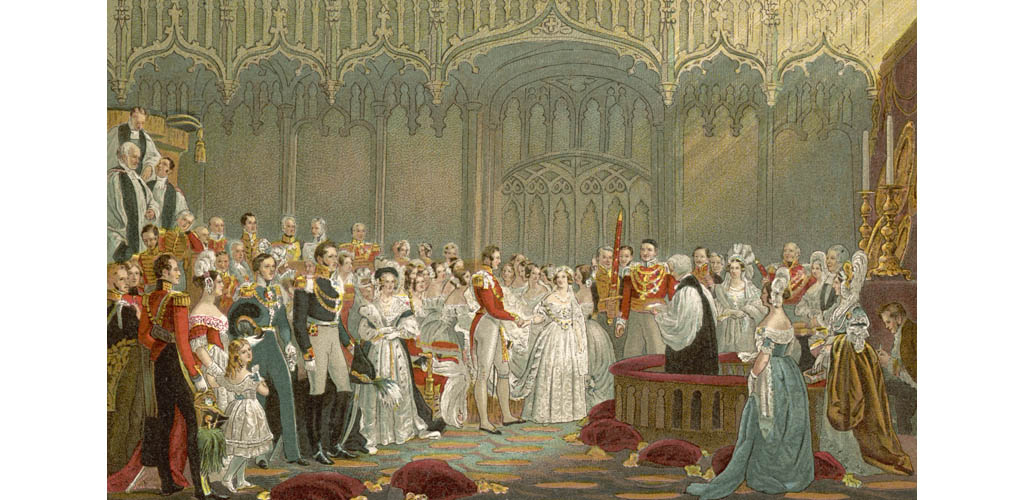 VICTORIA MARRIES ALBERT
