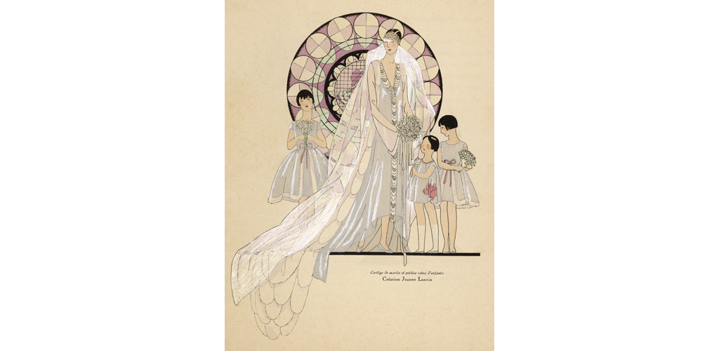 WEDDING DRESS 1926