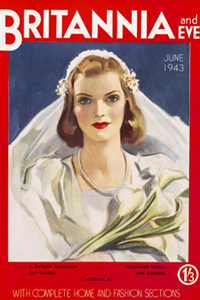 Front cover from Britannia and Eve.