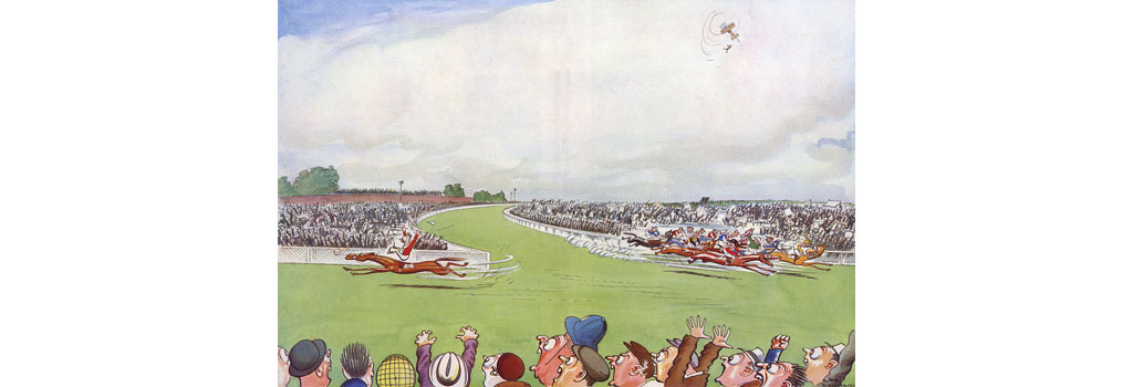 Horse That Took The Wrong Turning- At Epsom', by H. M. B