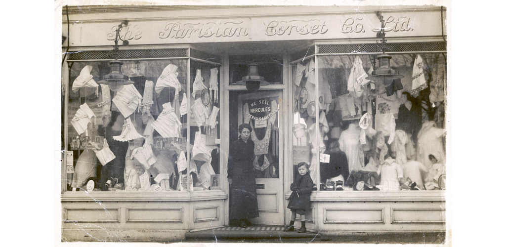 PARISIAN CORSET CO. SHOP