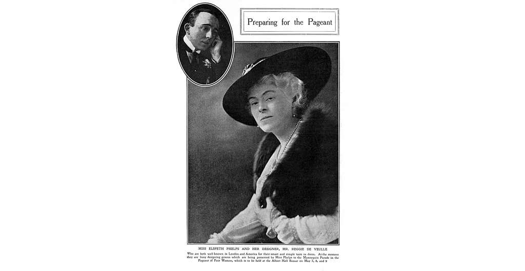 Elspeth Phelps and Reggie de Veulle, 1917