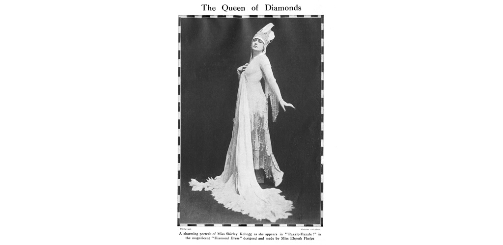 The Queen of Diamonds - Shirley Kellogg in Elspeth Phelps
