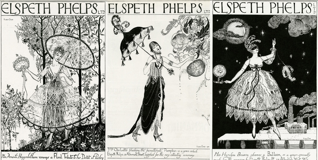 Elspeth Phelps advertisement, 1920