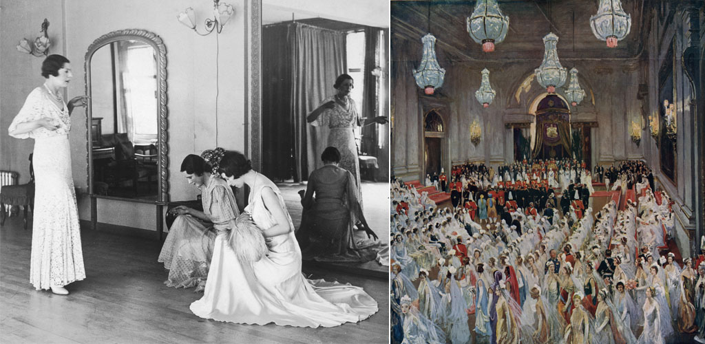 Their Majesties' Court by Sir John Lavery