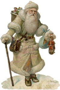 Festive old Father Christmas