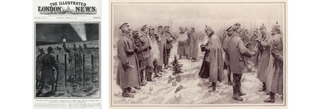 CHRISTMAS TRUCE 1914 WW1