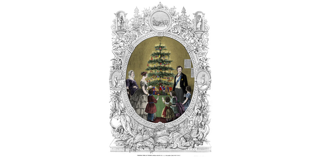 Queen Victoria's Christmas tree