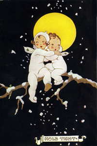 Snow Babies - Hold Tight by Dorothy Wheeler