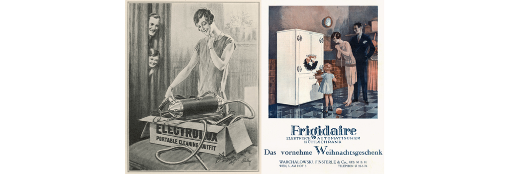 Frigidaire fridge advert