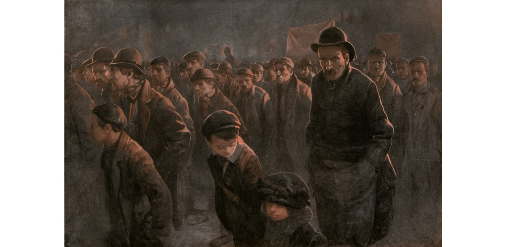 THE MARCH OF THE UNEMPLOYED Date: 1912