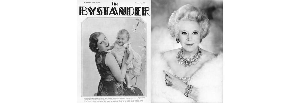 Barbara Cartland and Raine