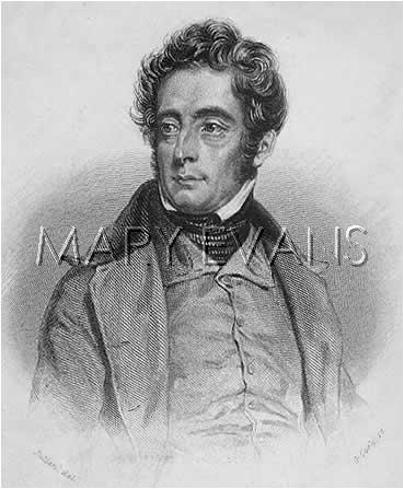 Mary Evans Picture No 10071623 - ALPHONSE-MARIE-LOUIS DE PRAT DE LAMARTINE French writer