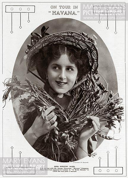 Mary Evans Picture No 10837296 - Dorothy Ward (1890 - 1987) Actress.  Appearing in