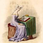 Christine de Pisan (1364?-1430), French writer.