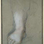 Study of a Foot by Federico Barocci.    16th century
