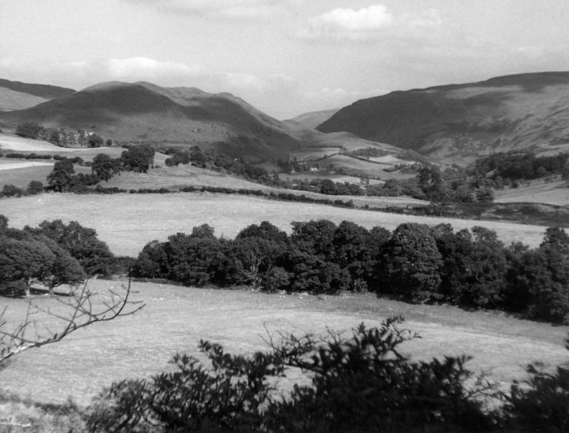 A mid-Wales landscape, near Hafod, Cardiganshire, Wales.     1960s