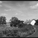 A lovely old cottage by Lough Neagh, near Derrymore, County Antrim, Northern Ireland.    1950s