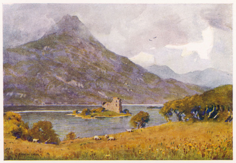 Ballynahinch Castle, Connemara, Ireland.   1916
