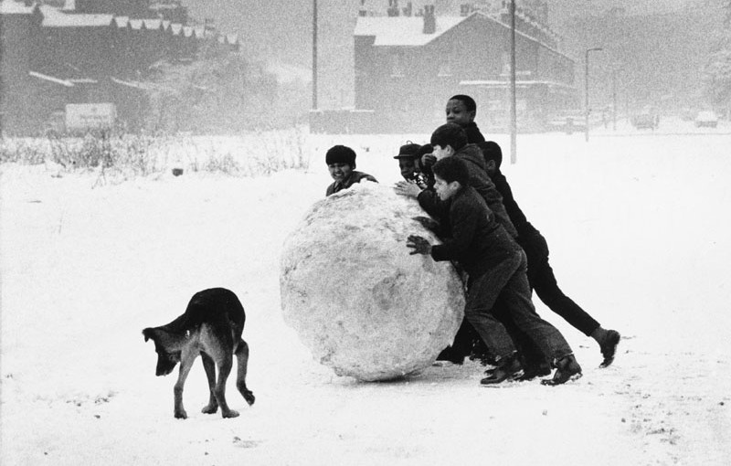 A Northern Snow Scene