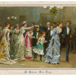 Dance the Old Year out and the  New Year in.         Date: 1880
