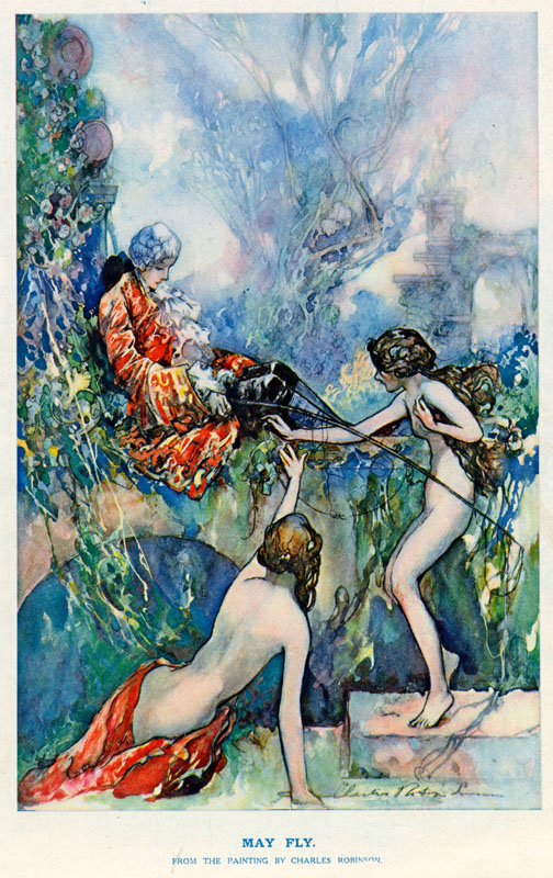 May Fly by Charles Robinson.   circa 1920s