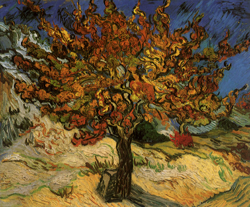 The Mulberry Tree  1889