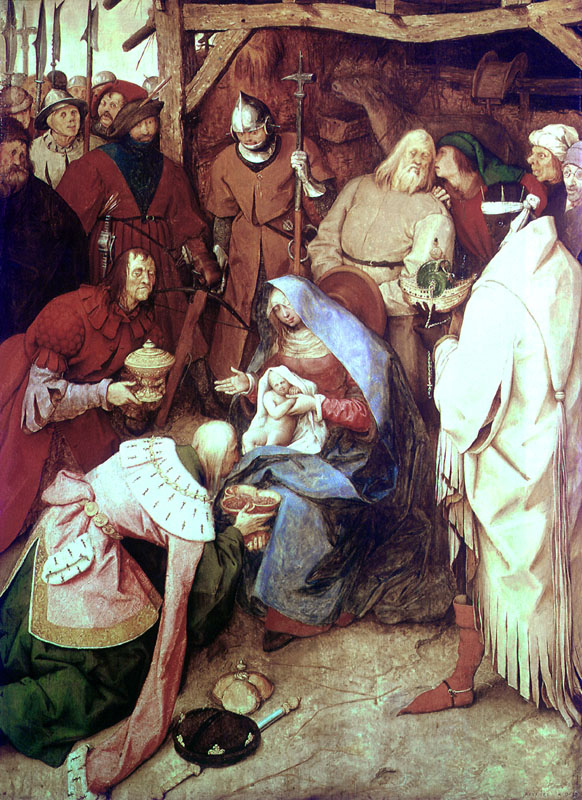 Adoration of the Kings     Date: 1564