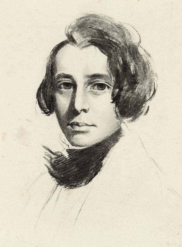 CHARLES DICKENS  Dickens as a young man, c1836.        Date: 1812 - 1870