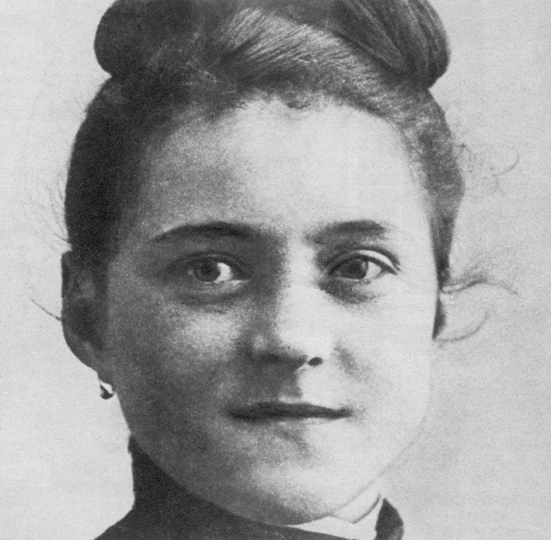 Therese of Lisieux, or St. Therese of the Child Jesus and the Holy Face (January 2, 1873 - September 30, 1897), a French Carmelite nun. The widespread influence and popularity of her autobiography, 'Story of a Soul,' resulted in her canonization on 17 May 1925, by Pope Pius XI, only 28 years after her death.