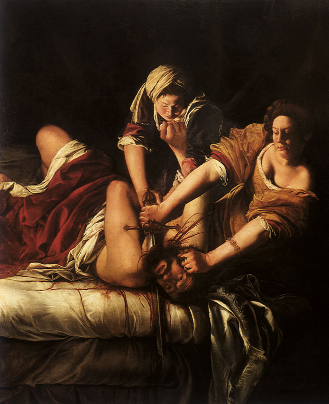 Judith Beheading Holofernes     Date: 1620
