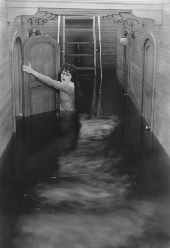 Escaping the flood  circa early 20th century